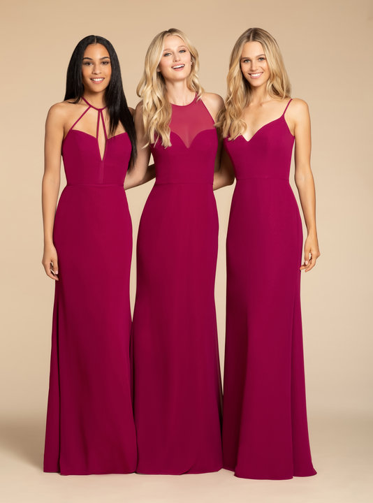 Hayley Paige Occasions Style 5909 Bridesmaids Gown