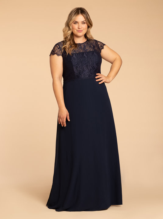 Hayley Paige Occasions Style W917 Bridesmaids Dress