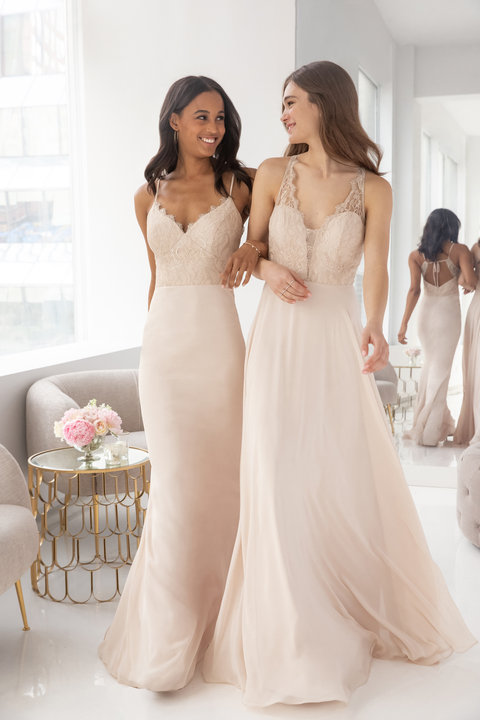 Hayley Paige Occasions Style 5919 Bridesmaids Gown