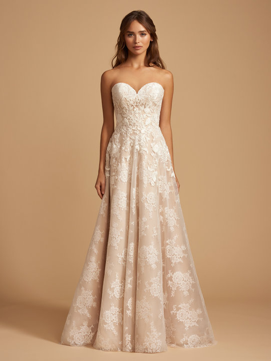 Ti Adora by Allison Webb Style 7851 Phillipa Bridal Gown
