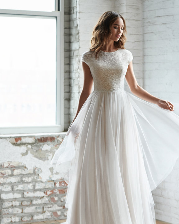 Ti Adora by Allison Webb Style 7854 Riva Bridal Gown