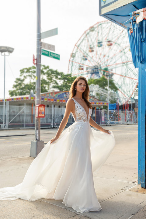 Tara Keely by Lazaro Style 2856 Cristina Bridal Gown