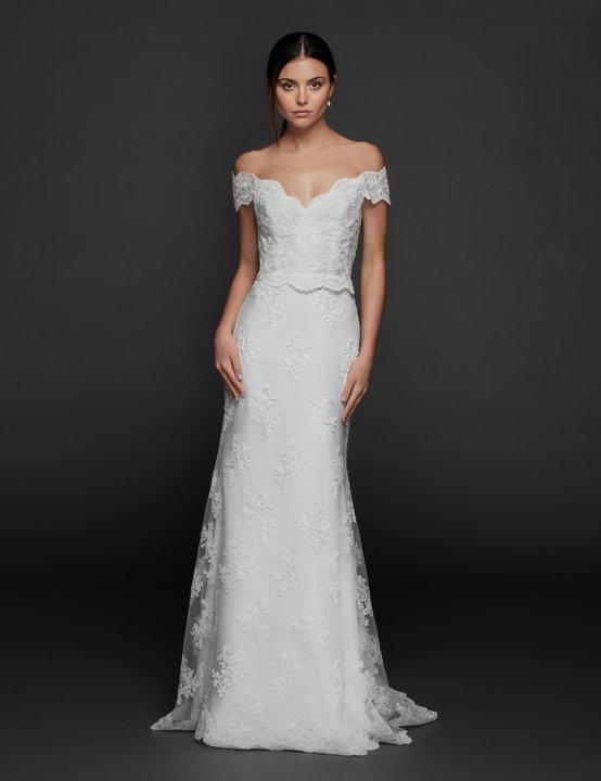Tara Keely by Lazaro Style 2955 Nina Bridal Gown