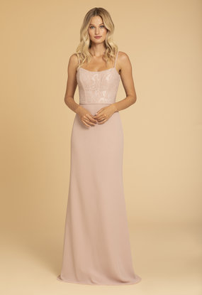 Hayley Paige Occasions Style 52005 Bridesmaids Gown