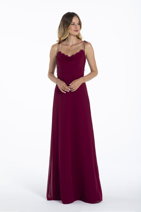 Hayley Paige Occasions Style 52106 Bridesmaids Gown